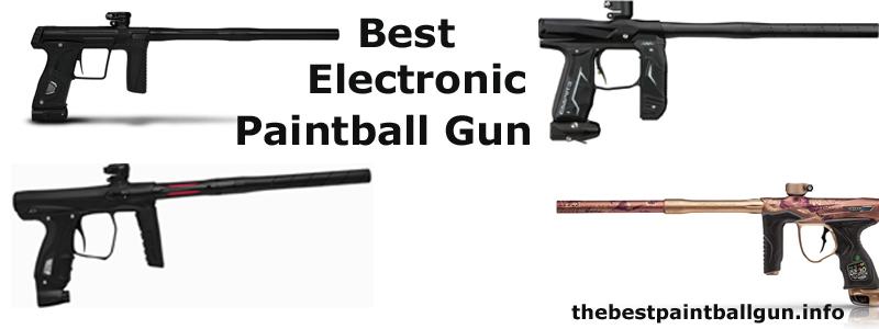 Best Electronic Paintball Gun