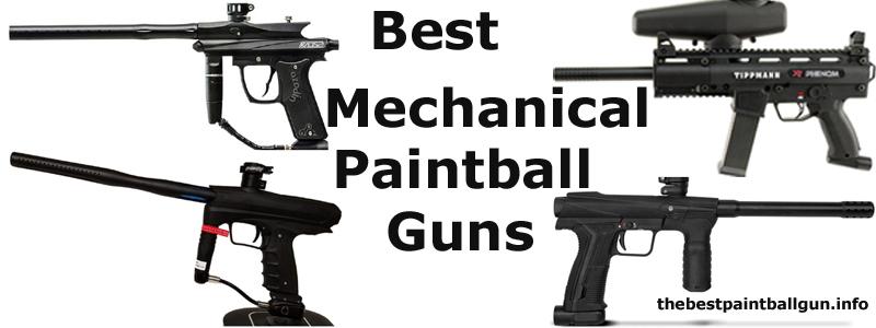 Best Mechanical Paintball Guns