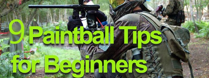 Paintball Tips For Beginners