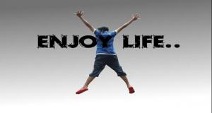 A chance to enjoy life