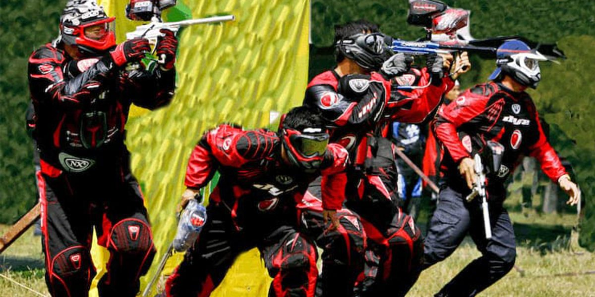 Paintball tournament rules